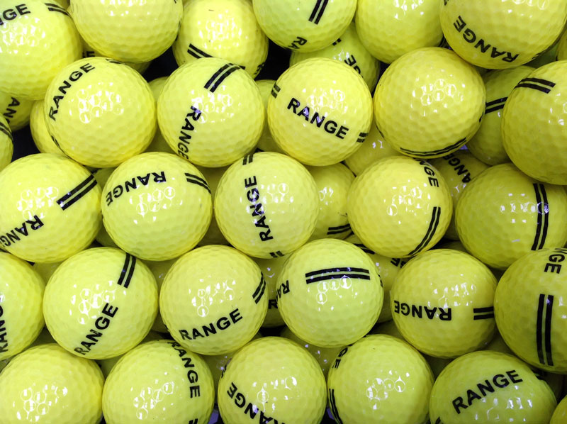 Used & Reclaimed Colour Golf Balls, Colours Golf Balls  Used Golf